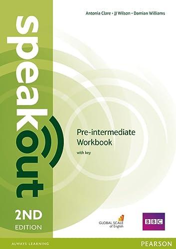 9781447976974: Speakout Pre-Intermediate 2nd Edition Workbook with Key