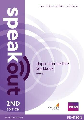 9781447977186: Speakout Upper Intermediate. Workbook with Key