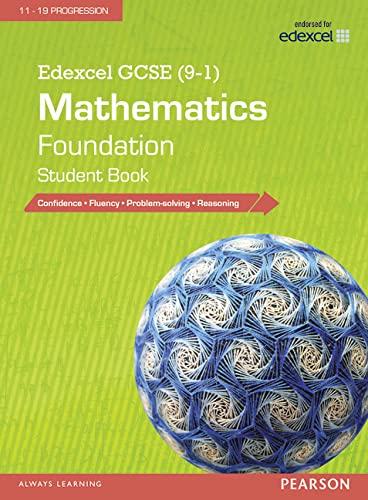 9781447980193: Edexcel GCSE (9-1) Mathematics: Foundation Student Book (Edexcel GCSE Maths 2015)
