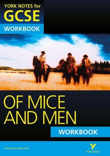 9781447980469: Of Mice and Men: York Notes for GCSE Workbook (Grades A*-G)