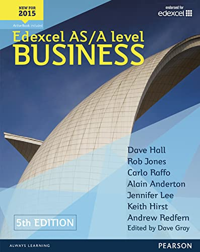 9781447983545: Edexcel AS/A level Business 5th edition Student Book and ActiveBook