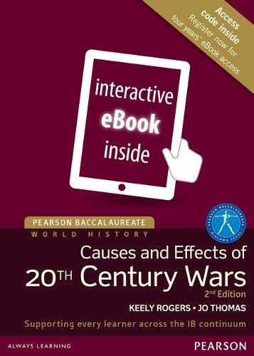 Pearson Baccalaureate: History Causes and Effects of: Jo Thomas; Keely