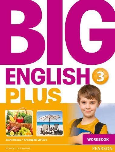 9781447989400: Big English Plus American Edition 3 Workbook