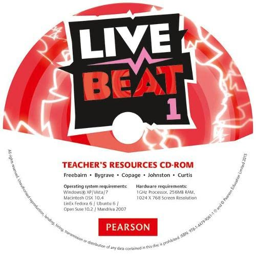 9781447990611: Live Beat 1 Teacher's Resources CD-ROM (Upbeat)