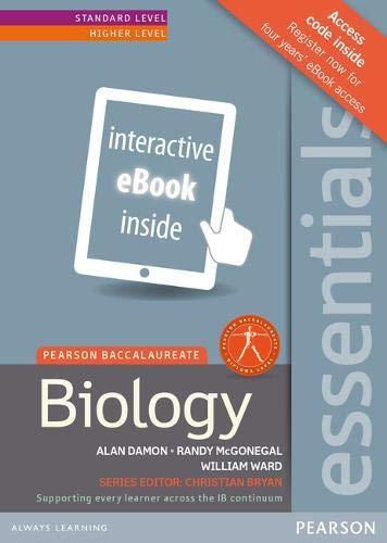 Pearson Baccalaureate Essentials: Biology Standalone eText (Pearson: Alan Damon; Randy