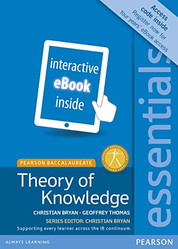 9781447990710: Essentials: Theory of Knowledge, for the IB Diploma (eText) (Access Code Card) (Pearson Baccalaureate) (Pearson International Baccalaureate Essentials)