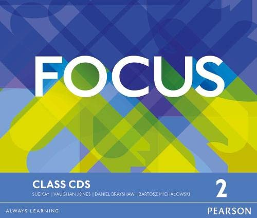 9781447997764: Focus pre-intermediate. Class CDs. Per le Scuole superiori. Con espansione online