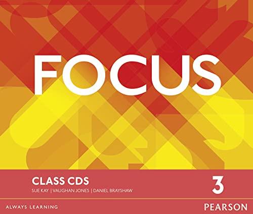 9781447997979: Focus BrE 3 Class CDs