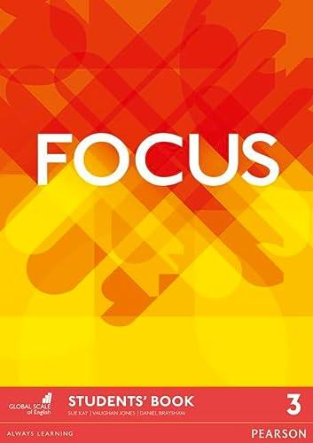 9781447998099: Focus BrE 3 Student's Book