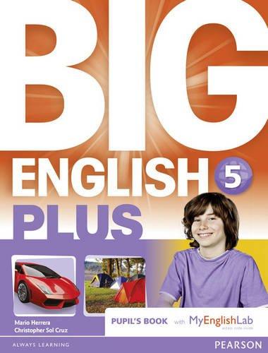 9781447999294: Big English Plus 5 Pupils' Book with MyEnglishLab Access Code Pack