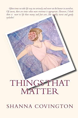 9781448602780: Things That Matter