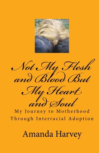 9781448603718: Not My Flesh and Blood But My Heart and Soul: My Journey to Motherhood Through Interracial Adoption
