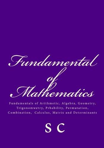 9781448619405: Fundamentals of Mathematics