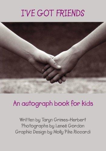 9781448623365: I've Got Friends: An autograph book for kids