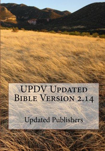 9781448639724: UPDV Updated Bible Version 2.14