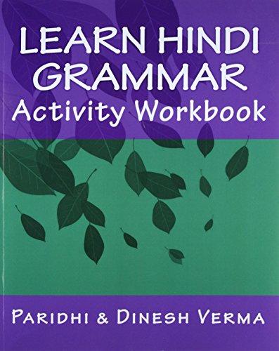 9781448648856: Learn Hindi Grammar Activity Workbook