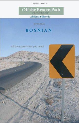 9781448662241: The Bosnian Phrasebook: Fully Transliterated