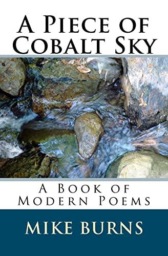 A Piece of Cobalt Sky: A Book: Burns, Mike