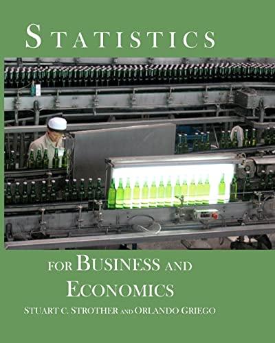 9781448689132: Statistics for Business and Economics