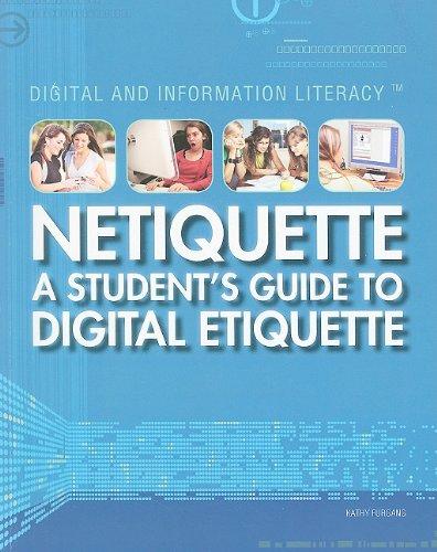 9781448805976 Netiquette A Student S Guide To Digital Etiquette