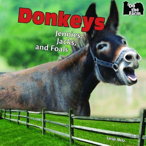 Donkeys: Jennies, Jacks, and Foals (On the Farm): Lorijo Metz