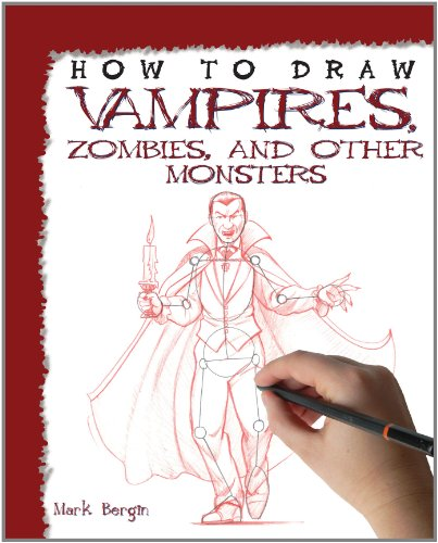 9781448845125: How to Draw Vampires, Zombies, and Other Monsters