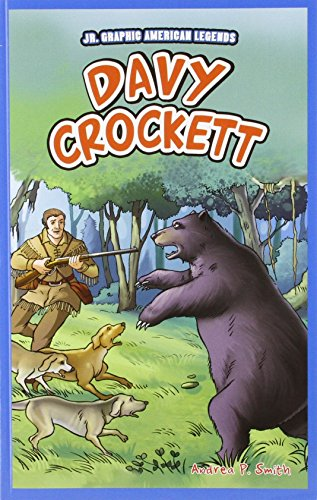 9781448852222: Davy Crockett (JR. Graphic American Legends)