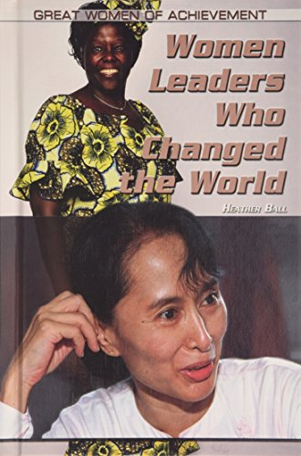 9781448860005: Women Leaders Who Changed the World (Great Women of Achievement)