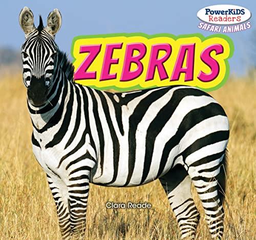 9781448875351: Zebras (Powerkids Readers: Safari Animals)