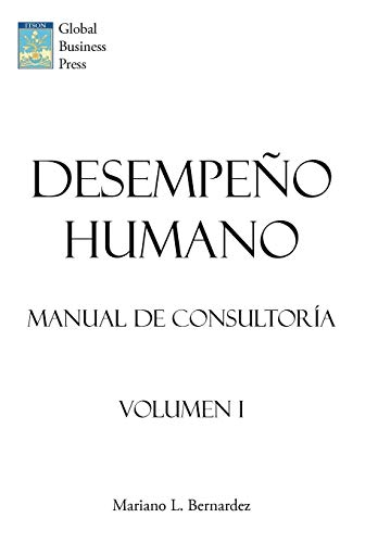 9781449018610: Desempeo Humano: Manual de Consultora