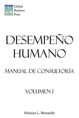 9781449018641: Desempeo Humano: Manual de Consultora