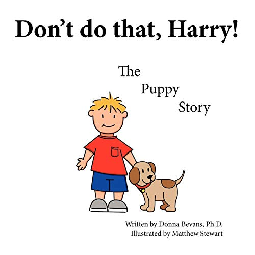 9781449029272: Don't Do That, Harry!: The Puppy Story