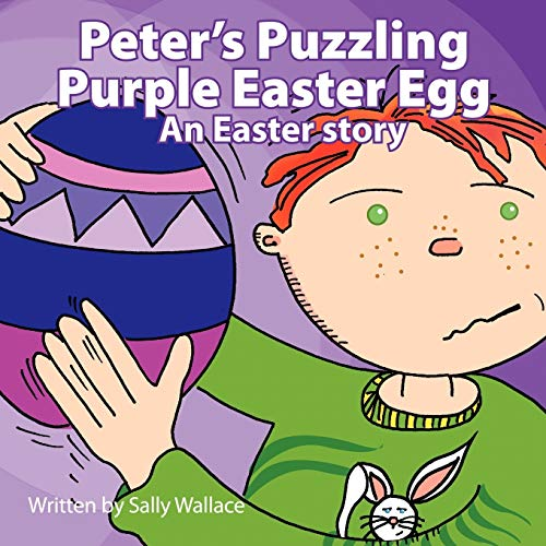 Peters Puzzling Purple Easter Egg: Sally Wallace