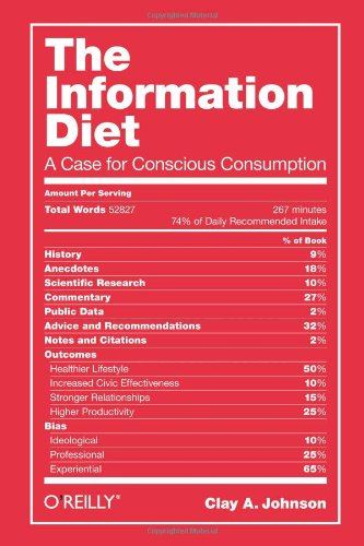 9781449304683: The Information Diet: A Case for Conscious Consumption