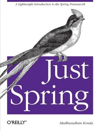 9781449306403: Just Spring: A Lightweight Introduction to the Spring Framework