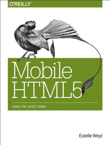 Mobile Html5 9781449311414 Build kickass websites and applications for all mobile (and non-mobile) platforms by adding HTML5 and CSS3 to your web development toolkit. With this hands-on book, you'll learn how to develop web apps that not only work on iOS, Android, Blackberry, and Windows Phone, but also perform well and provide good user experience. With lots of code and markup examples, you'll learn best practices for using HTML5 features, including new web forms, SVG, Canvas, localStorage, and related APIs. You'll also get an in-depth look at CSS3, and discover how to design apps for large monitors and tiny screens alike. Learn HTML5's elements, syntax, and semantics Build forms that provide enhanced usability with less JavaScript Explore HTML5 media APIs for graphics, video, and audio Enable your applications to work offline, using AppCache, localStorage, and other APIs Learn what you need to know about CSS3 selectors and syntax Dive into CSS3 features such as multiple backgrounds, gradients, border-images, transitions, transforms, and animations Make your web applications usable, responsive, and accessible. Design for performance, user experience, and reliability on all platforms