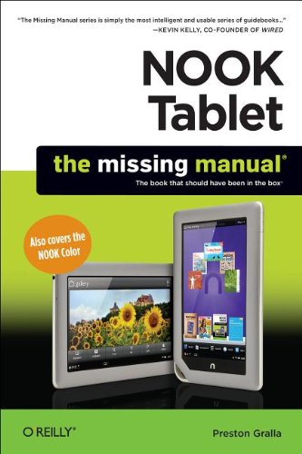 9781449317751: NOOK Tablet: The Missing Manual
