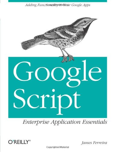 9781449318529: Google Script: Enterprise Application Essentials: Adding Functionality to Your Google Apps