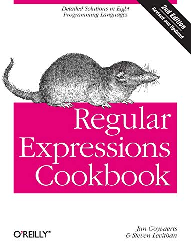 9781449319434: Regular Expressions Cookbook