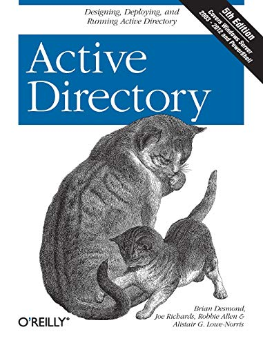 9781449320027: Active Directory: Designing, Deploying, and Running Active Directory