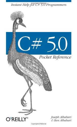 9781449320171: C# 5.0 Pocket Reference: Instant Help for C# 5.0 Programmers
