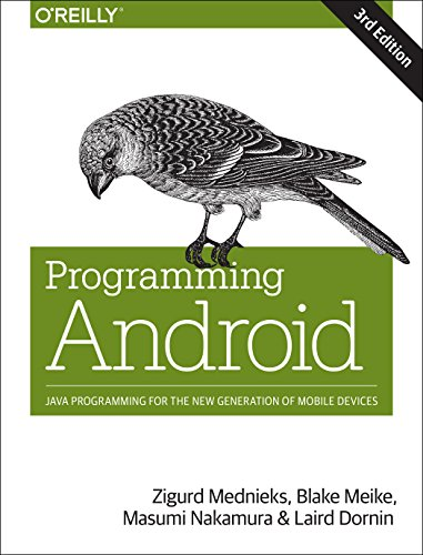 9781449340704: Programming Android 3e