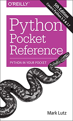9781449357016: Python Pocket Reference (Pocket Reference (O'Reilly))