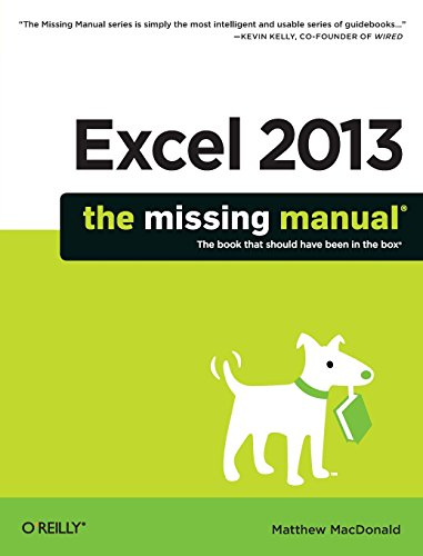 9781449357276: Excel 2013: The Missing Manual