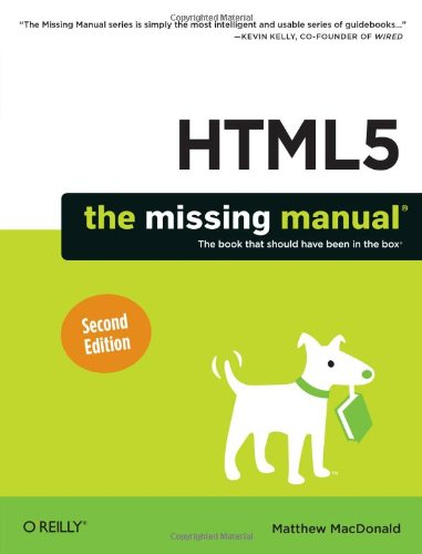 9781449363260: HTML5: The Missing Manual