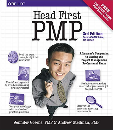 9781449364915: Head First PMP: A Learner's Companion to Passing the Project Management Professional Exam