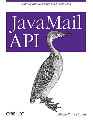 9781449367244: JavaMail API