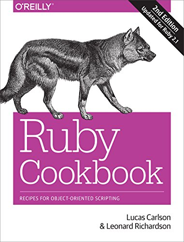9781449373719: Ruby Cookbook: Recipes for Object-Oriented Scripting