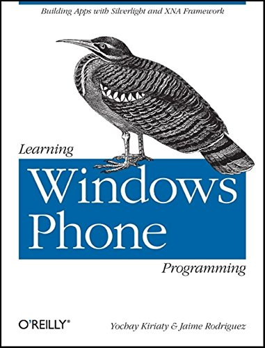 9781449388362: Learning Windows Phone Programming
