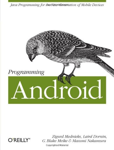 9781449389697: Programming Android